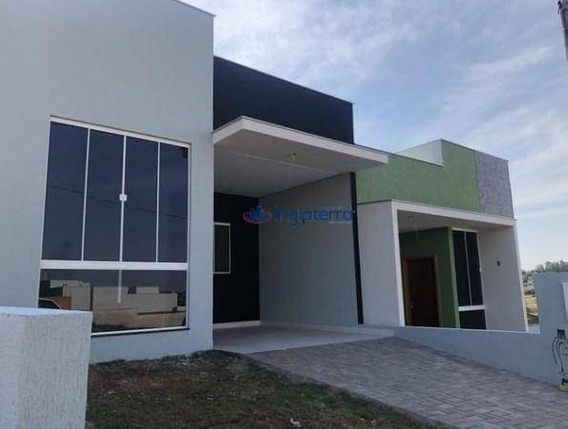 Casa Com 3 Dormitórios À Venda, 82 M² Por R$ 250.000,00 - Jardim Ecoville I - Cambé/pr - Ca0889
