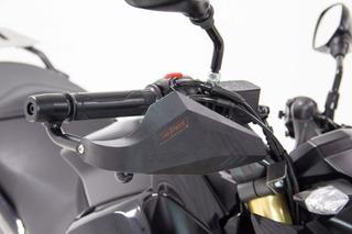 Protector De Mano Nuclear Negro/gris Honda Cb190r Fire Parts