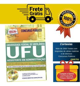 Apostila Assistente Em Administração Concurso Ufu Mg 2019