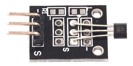 Sensor Magnético Efeito Hall Arduino Sem Led/resistor Ky035