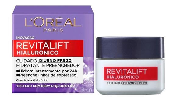 Creme Revitalift Hialurônico Diurno Fps20 Loréal Paris 49g