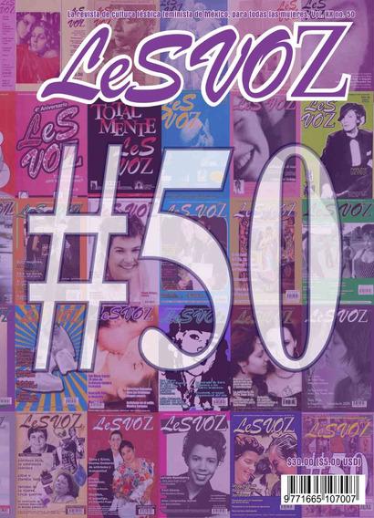 Revista Lesvoz #50, 2018, Cultura Lésbica Feminista