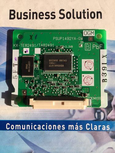 Tarjeta Disa Central Telefónica  Panasonic Contestación Auto