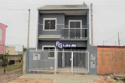 Sobrado Com 2 Dormitórios À Venda, 70 M² Por R$ 265.000,00 - Sítio Cercado - Curitiba/pr - So0074