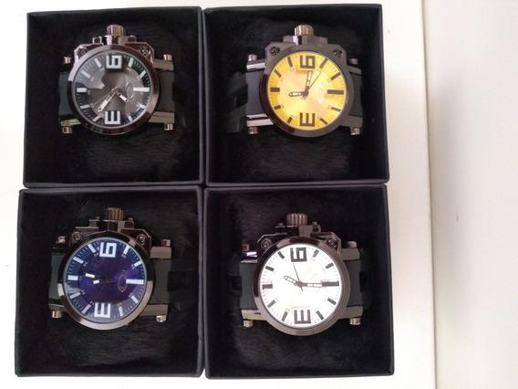 Kit Com 4 Relógios Oakley Gearbox