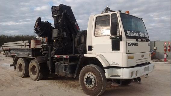 Ford Cargo 2626 6x4 , 2003, C/ Munck Hiab 500-6 *confira