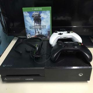 Xbox One 1tb 2 Mandos Usada + Auric