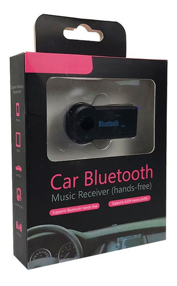 Adaptador Bluetooth Para Carro Musicas Som Usb P2 Bt-350