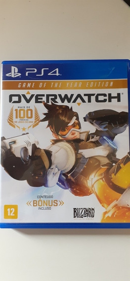 Overwatch Game Of The Year Editor Ps4
