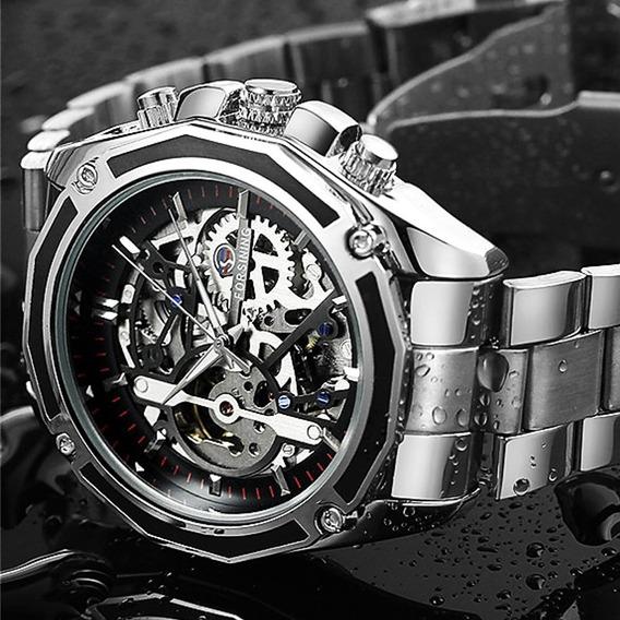 Reloj Forsining Skeleton Automatico - Original Importado