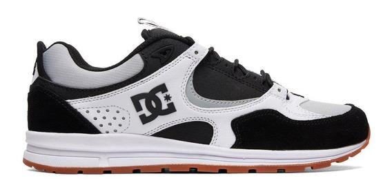 Tenis Masculino Dc Shoes Kalis Lite Black/grey Original