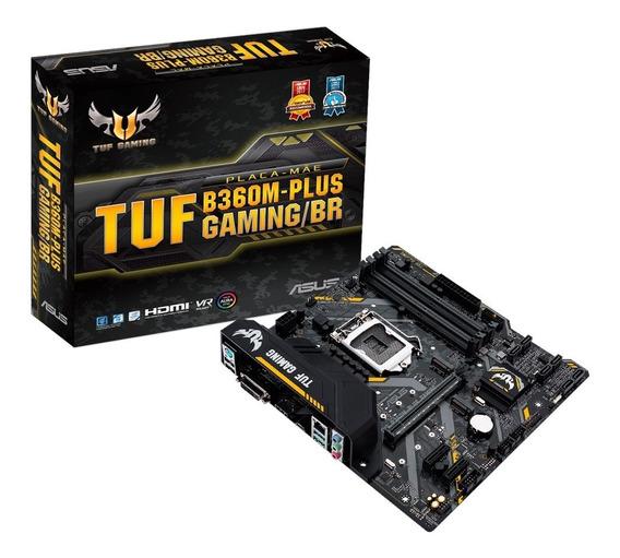 Placa Mãe Lga1151 Asus Tuf B360m-plus Gaming - 8 E 9 Geração
