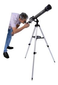 Telescópio Astronômico Skylife Gemini Profissional + Cd Rom