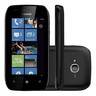 Smartphone Nokia Lumia 710 8gb Tela 3.7 3g Wi-fi 5mp Anatel