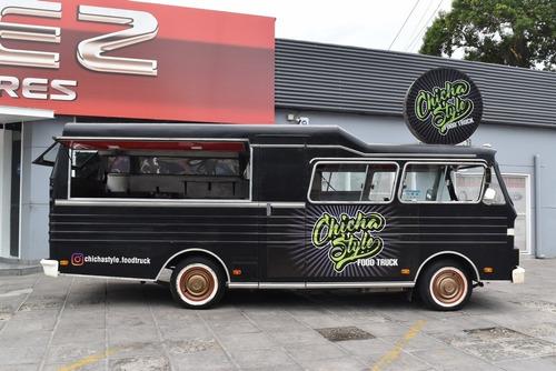 Food Truck Mercuri Motor Nissan Diesel Totalmente Equipado!!