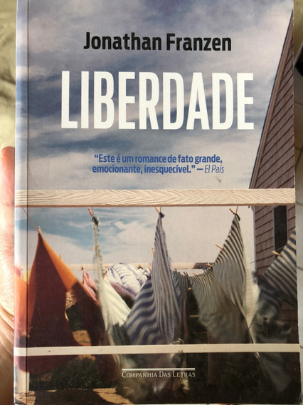 Livro Jonathan Franzen Liberdade Companhia Das Letras