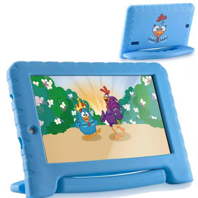 Tablet Galinha Pintadinha Quad C. 8gb Wifi Azul Nb282 Nota F