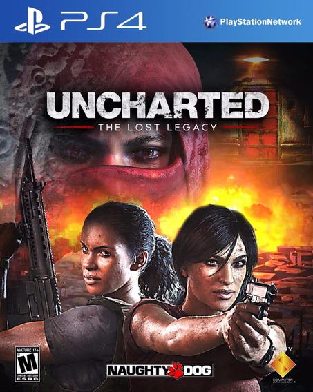 Vendo Urcharted The Lost Legacy Midia Digital.