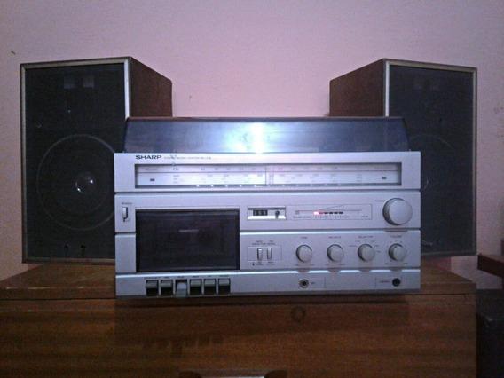 Aparelho De Som Sharp 3 X 1 Sg - 12b Stereo Music Center