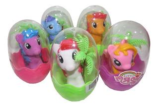Pony - Unicornio Bebe Mas Accesorios En Huevito Souvenir