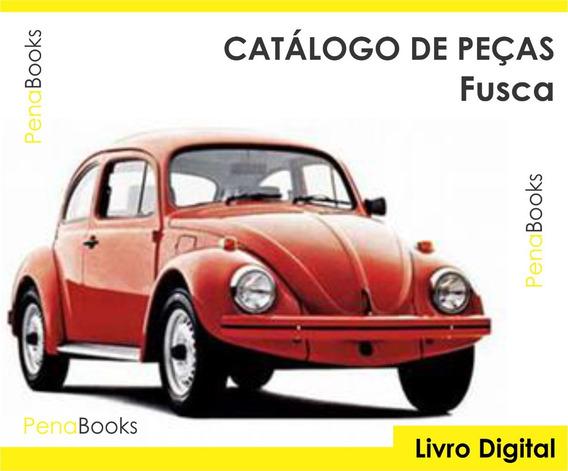 Catálogo De Peças Volkswagen Fusca Itamar 1600 1993 - 1996