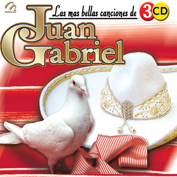 Cd Música Las Más Bellas Canciones De Juan Gabriel