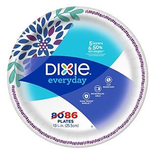 Dixie Cena Todos Los Días, Las Placas Mega Pack, 10 1/16 Pul