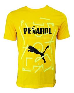 Camiseta Remera Peñarol De Fútbol De Adulto Casual Mvd Sport