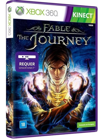Fable The Journey Xbox 360 Dvd Midia Fisica Original Lacrado
