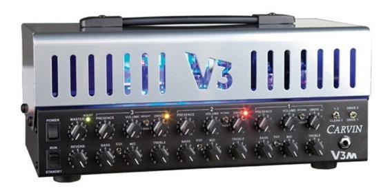 Amplificador Valvulado 3 Canais Carvin V3m +footswitch +bag