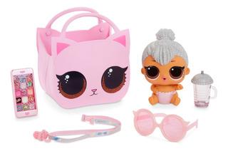 Muñeca Bebé Lil Kitty Queen L.o.l. Surprise Ohh La La Con