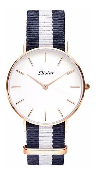 Relógios Dw Unissex Marca Skstar Super Oferta