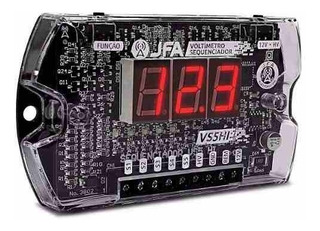 Sequenciador Voltimetro Medidor Bateria Digital Jfa Vs5 Hi