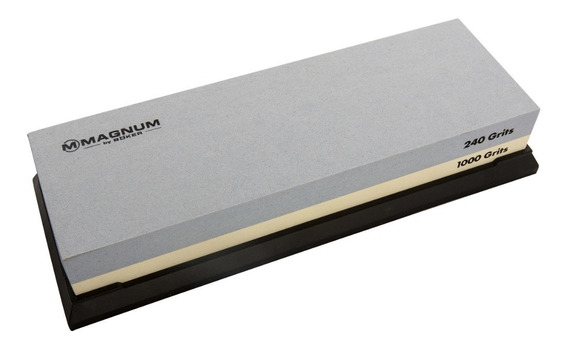 Piedra Para Afilar Magnum By Boker Doble Fax 240-1000 Grips