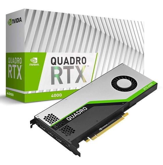 Placa Nvidia Quadro Rtx 4000 8gb Gddr6 256 Bits Nf Garantia
