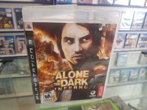 Alone In The Dark Inferno Usado Original Manual Ps3 .
