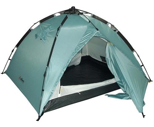 Imagen 1 de 7 de Carpa 3 Personas Outdoors Dome Autoarmable Armado Instantane