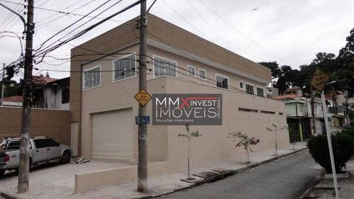 Imagem 1 de 21 de Salão Para Alugar, 300 M² Por R$ 7.000,00/mês - Vila Albertina - São Paulo/sp - Sl0237