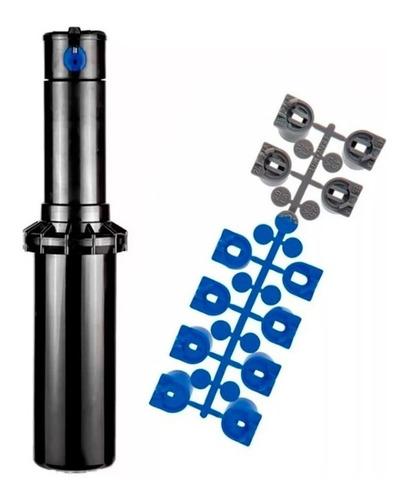Imagen 1 de 2 de Aspersor Riego Rotor Ultra Radio Ajustable C/ Boquillas