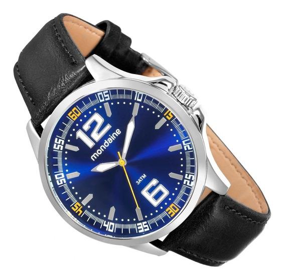 Relógio Mondaine Análogo 48mm Pulseira Aço 53598g0mvne2