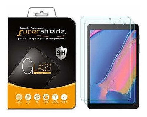(paquete De 2) Supershieldz Para Samsung Galaxy Tab A 8.0 (2