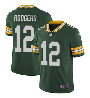 Camisa Futebol Americano Green Bay Packers Aaron Rodgers