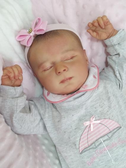 Bebê Reborn Kimberly Dormindo Pronta-entrega