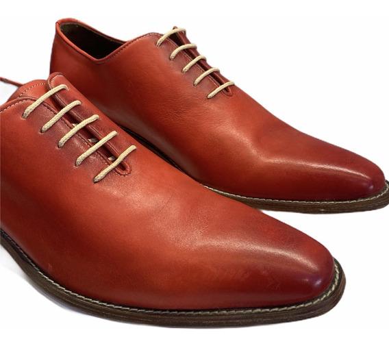 Zapatos Cuero Hombre Jr