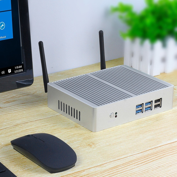 Mini Pc I7 + 8gb Ddr3 + 120gb Ssd + Wifi + Brinde