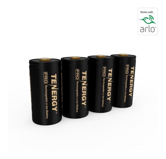 Baterias Recarregáveis Tenergy Premium 3.7v 750 Arlo | 4 Un