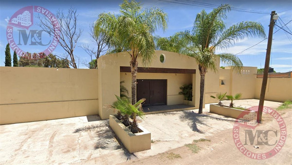 Quinta Con Terreno Excedente En Venta Al Poniente En Los Negritos, Aguascalientes