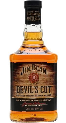 Whiskey Jim Beam Devils Cut Whisky Bourbon Envio Gratis