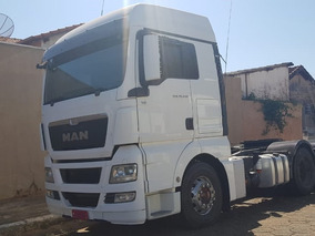 Man Tgx 28440 6x2 Ano 2014 Com Motor Novo
