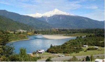 600 Mts Antes Del Puente Sobre El Rio Pu